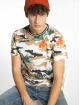 Southpole T-Shirty Tropical Camo bialy 0