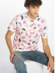 Southpole T-Shirty Watermelon & Flamingo Print bialy 0