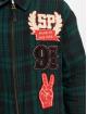 Southpole Übergangsjacke Flannel Application grün