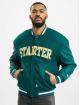 Starter College bundy Team Jacket zelený