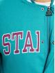 Starter College Jackets Team College turkusowy