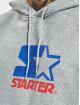 Starter Hoodies Two Color Logo šedá