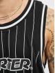 Starter Tanktop Pinstripe zwart