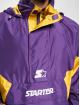 Starter Übergangsjacke Logo violet