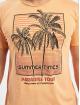 Stitch & Soul Camiseta Summer Paradise naranja