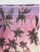 Stitch & Soul Débardeur Sunset Beach blanc