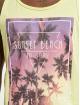 Stitch & Soul Débardeur Sunset Beach jaune