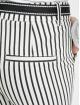 Stitch & Soul Spodnie wizytowe Pinstripe bialy