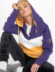 Stitch & Soul Sweat capuche Colour Block pourpre 0