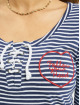 Stitch & Soul T-Shirt Follow Heart indigo