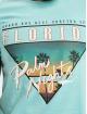 Stitch & Soul T-shirt Florida turchese