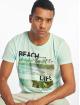 Stitch & Soul T-Shirt Beach Life turquoise 0