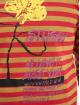 Stüssy Longsleeve Flower Stripe rot