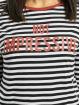 Sublevel Camiseta de manga larga Not Impressive blanco
