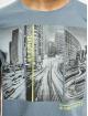 Sublevel T-shirt City Life blu