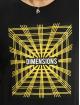 Sublevel Tričká Dimensions èierna