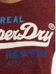 Superdry T-Shirty Vintage czerwony 3