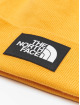 The North Face Bonnet Face Dock Worker Recycled jaune