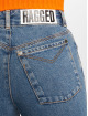 The Ragged Priest High Waisted Jeans Darling Printed modrá 4