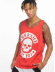 Thug Life Tank Tops B.Distress red 0