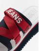 Tommy Jeans Japonki Sporty Neoprene niebieski
