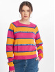 Tommy Jeans Pullover Tape Stripe gelb