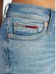 Tommy Jeans Tynne bukser Nora 7/8 Zip Mid Rise blå
