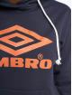 Umbro Hoodie Logo blå 3