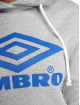 Umbro Hoody Logo grau 3