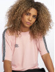 Umbro T-Shirt Scoop Back rosa 2