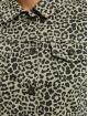 Urban Classics Демисезонная куртка Ladies Short AOP серый