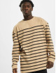 Urban Classics Пуловер Color Block Stripe Boxy LS черный