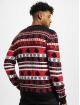 Urban Classics Пуловер Snowflake Christmas Tree черный