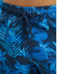 Urban Classics Badeshorts Pattern  Swim Trunks blå