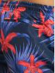 Urban Classics Badeshorts Pattern Swim blå