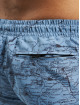 Urban Classics Badeshorts Pattern blå