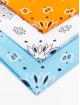 Urban Classics bandana Multicolor Bandana 3-Pack oranje