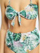 Urban Classics Bikini Ladies High Waist Pattern white