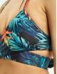 Urban Classics Bikini Ladies Draped Pattern zwart