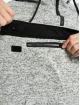 Urban Classics Bluzy z kapturem Knit Fleece Pull Over szary