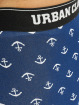 Urban Classics Bokserki 5-Pack niebieski