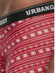 Urban Classics Boksershorts Christmas Fun 3er-Pack hvid