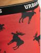 Urban Classics Boxerky Boxer Shorts 3-Pack èervená