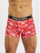 Urban Classics Boxerky Boxer Shorts 3-Pack Hohoho červený