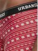 Urban Classics Boxerky Christmas Fun 3er-Pack biela