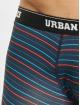 Urban Classics Boxerky 3-Pack modrá