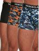 Urban Classics Boxershorts 3-Pack camouflage