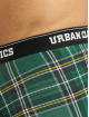 Urban Classics Boxershorts Boxer Shorts 3-Pack Mix grün