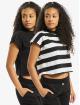 Urban Classics Camiseta Stripe Short 2-Pack negro