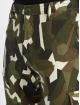 Urban Classics Cargobroek Geometric Stretch Twill camouflage